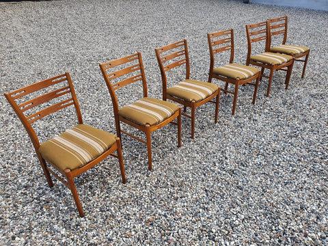 Six Danish Ladder-Back Dining Chairs (2004227)
