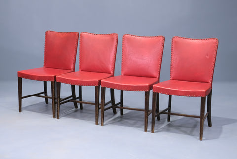 Four Early Danish Dining Chairs (2004247)