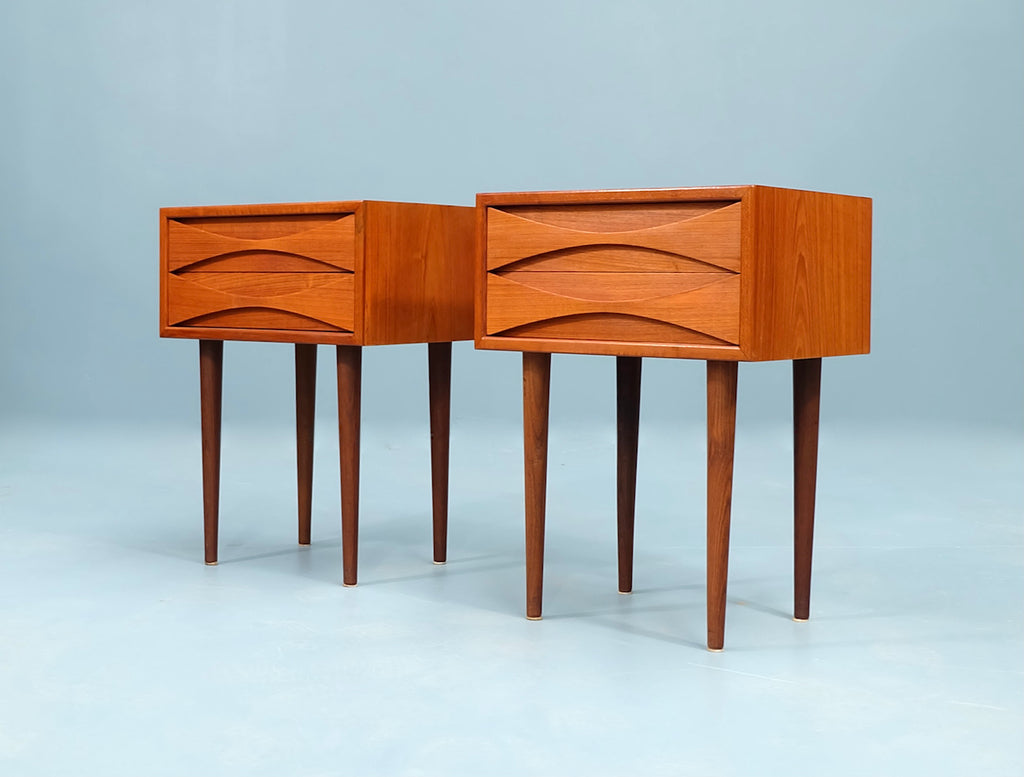 Pair of Niels Clausen Bedside Tables (2004249)