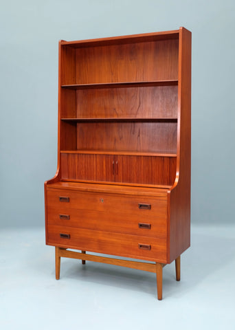 Johannes Sorth Bookcase / Bureau in Teak (2004283)