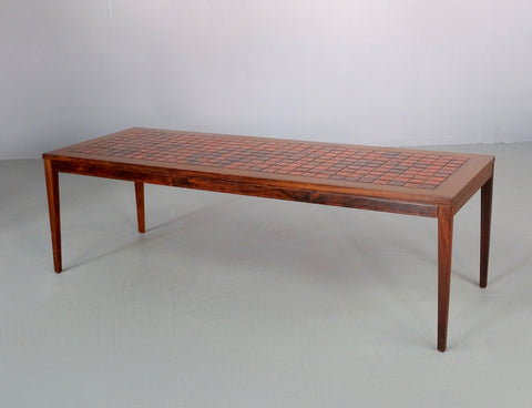 Danish Tile-top Coffee Table in Rosewood (2004923)