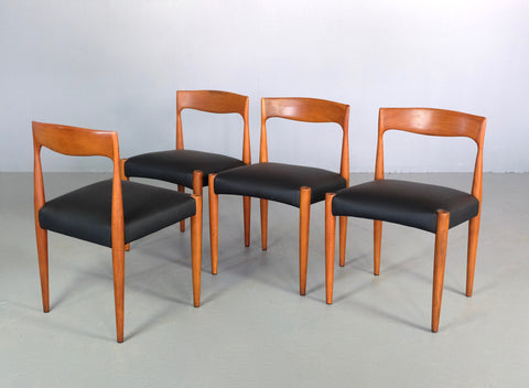 Four TH Brown Dining Chairs (2004939)