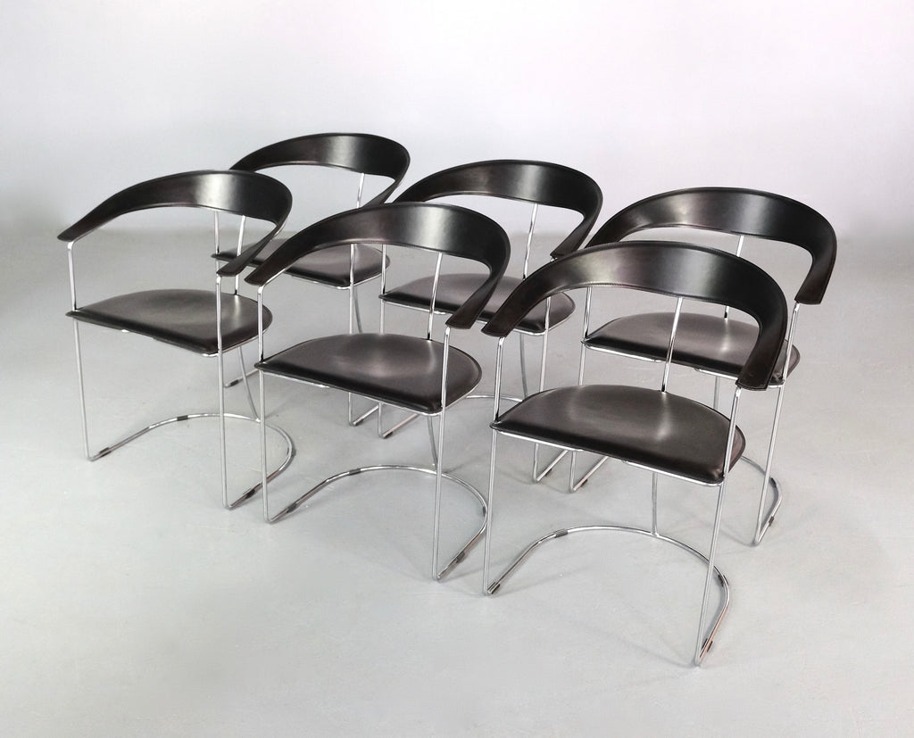 Set of Six Canasta Chairs by Arrben (2004994)