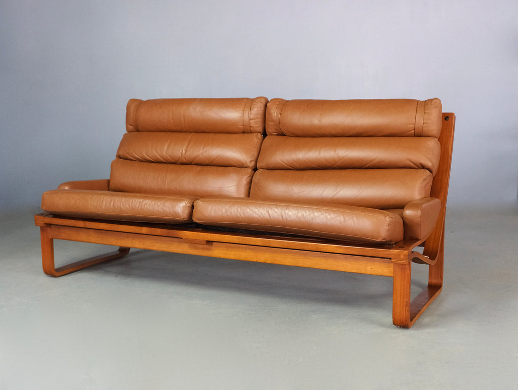 Tessa T4 Sofa in Tan Leather (2005900S)
