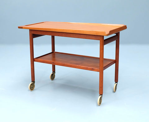 Danish Serving Trolley in Teak (2101AK054)