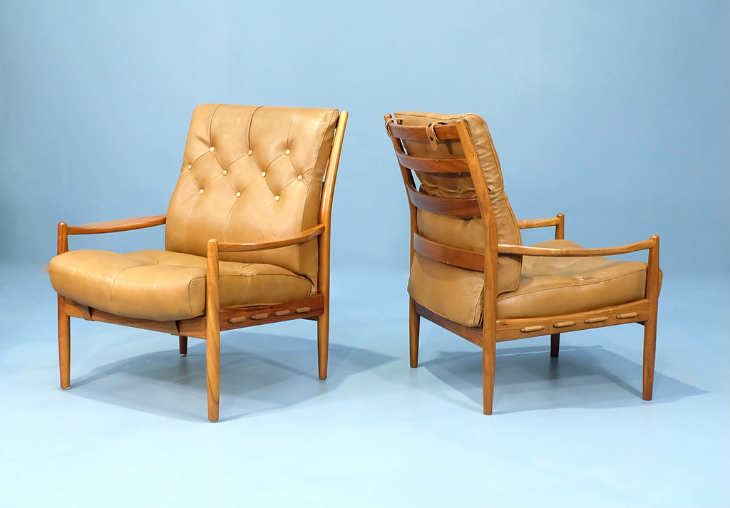 Pair of Ingmar Tillander Lounge Chairs (2101AK068)
