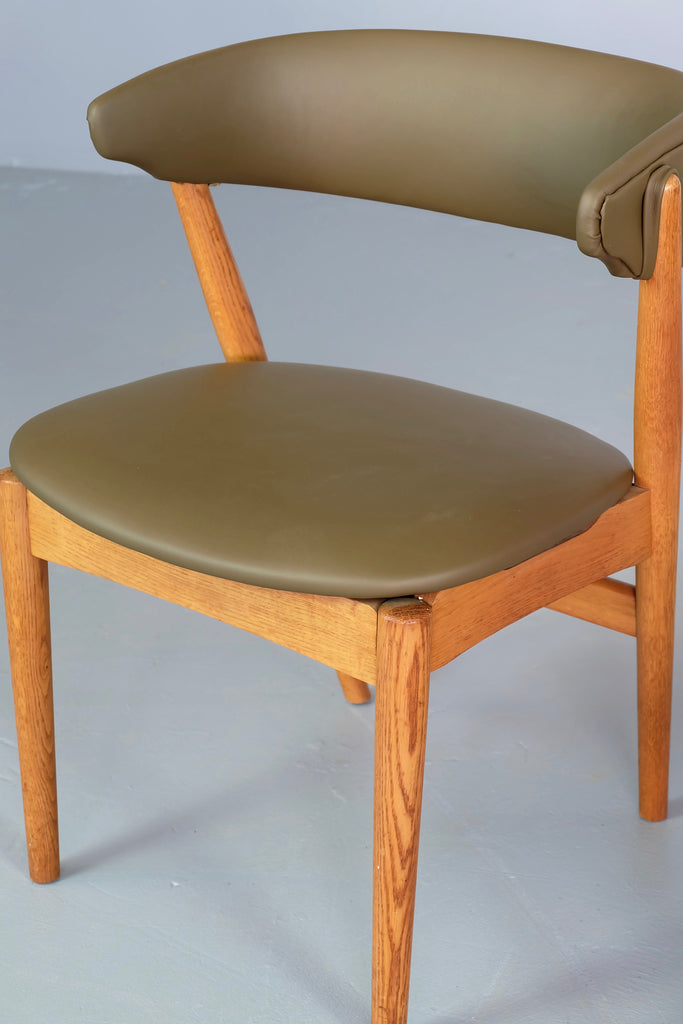 Helge Sibast No. 7 Chair in Oak & New Leather (1904928)