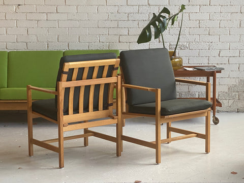 Børge Mogensen 3233 Armchairs in Oak (2002904)