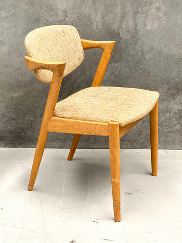 Four Kai Kristiansen #42 Dining Chairs in Oak (2002510)