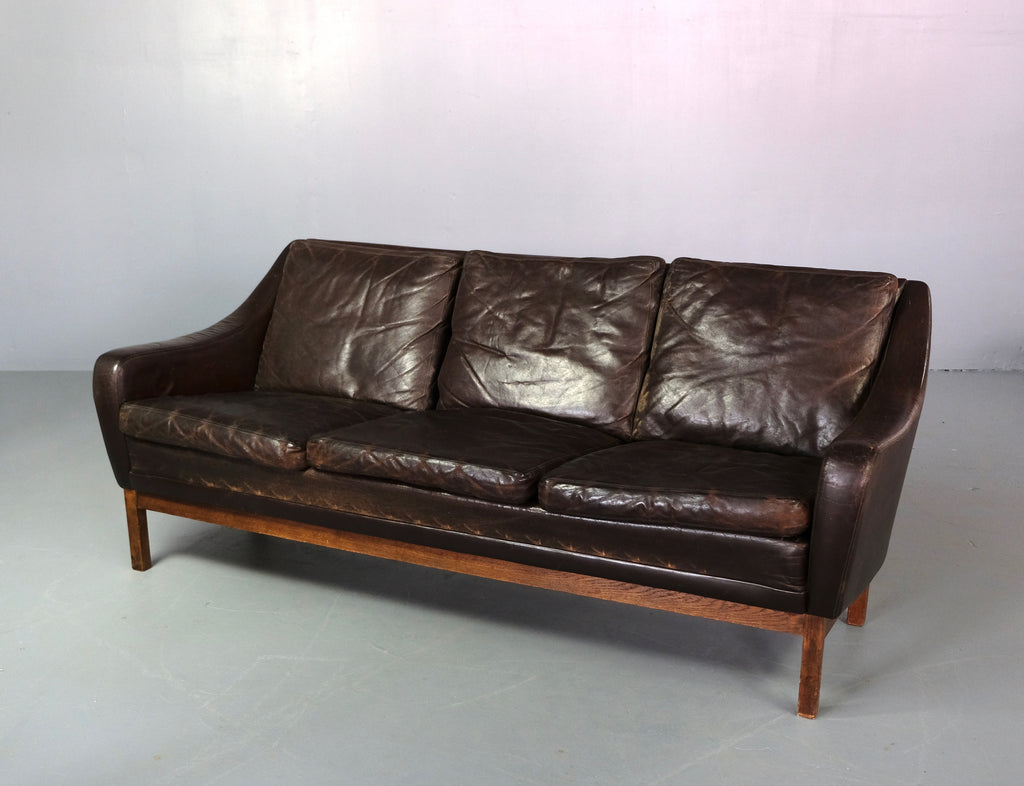 Danish Sofa in Leather (2003952)