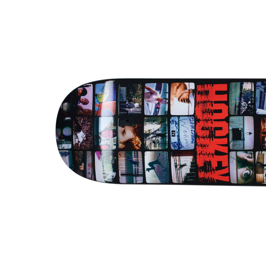 "Oxford Skate Co. Presents The 8.25"" 8.25"" Screens Deck From Hockey Skateboards, 8.25"" 8.25"" Screens, Team Model, 8.25 x 31.79"", 14.12"" Wheel Base, Raised ""Hockey"" Logo, Hockey Skateboards, FA World Entertainment, Oxford Skate Co."