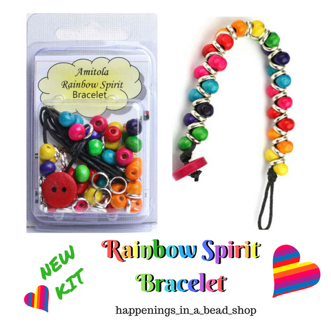 Amitola Rainbow Spirit Bracelet Kit