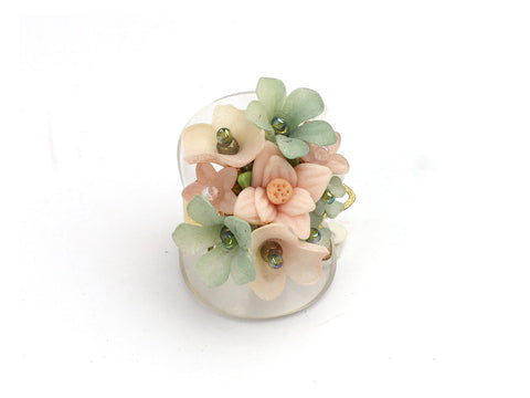 Light pastel ring by Colleen Toland