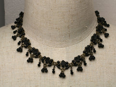 Black Lace: Short necklace by Colleen Toland