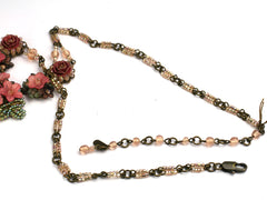 Lucy: Dusky Pink Colleen Toland necklace
