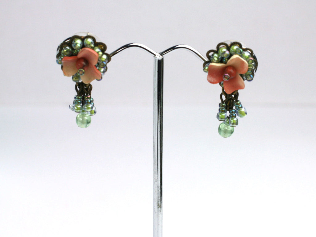 Victorian Rose Earrings