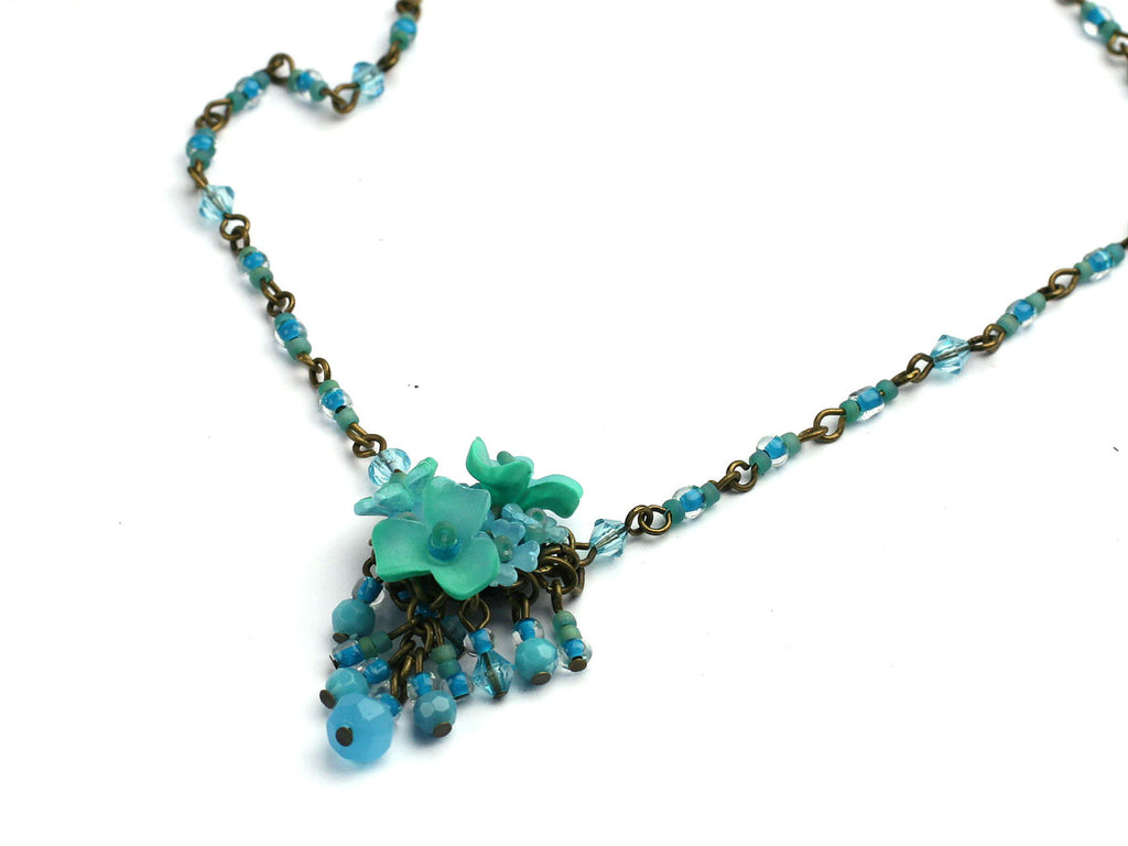 Lagoon: Short necklace by Colleen Toland