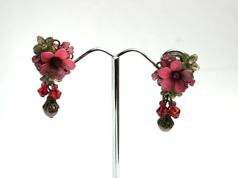 Victorian Rose Earrings by Colleen Toland