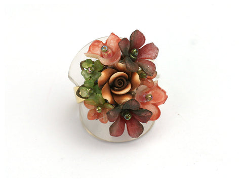 Vintage Rose Ring by Colleen Toland
