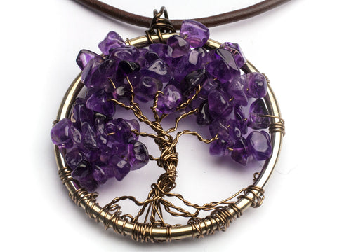 Class: Wired Tree of Life Pendant