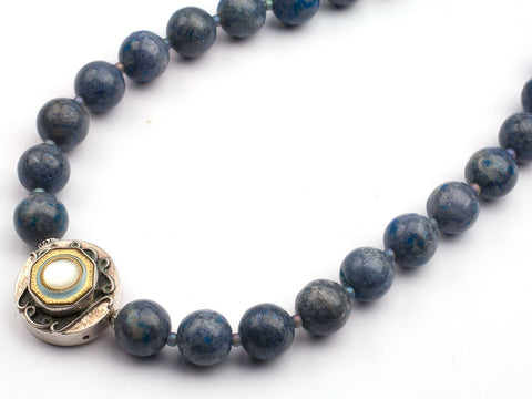 Deep blue seas necklace