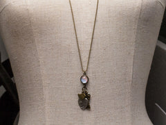 Warrnambool Traveller necklace - antique