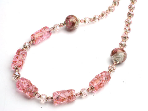 Brissi: a Pink Murano necklace