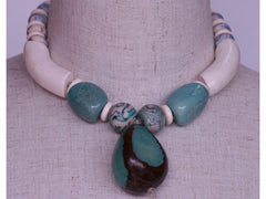 Delicious Delight: a necklace in polymer clay