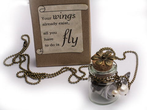 All you have to do is Fly necklace