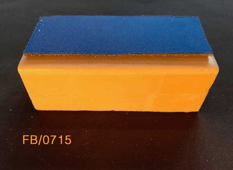 Foam Block  with Cuff 120mm x 55mm x40mm Block with neoprene cuff for suture anchors. FB/0715