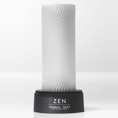 The Zen has been created with circular fine ribs that are engraved around its surface for smooth pleasure. The delicate flows that climb these walls combine to create a consistent intertwining sensation, second to none. All Tenga 3D products are easliy cleaned and designed for hundreds of hours of pleasurable usage .