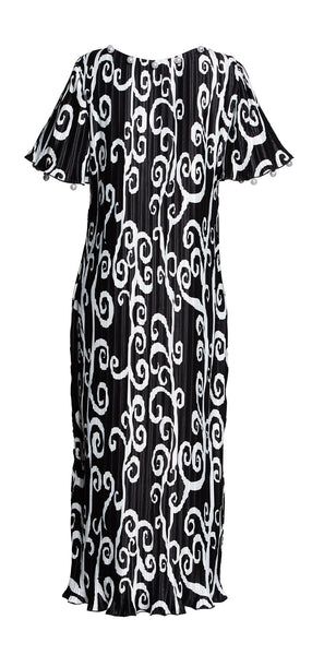 Fortuny Vine Pearl Dress