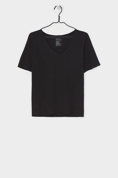Building Block V-Neck Tee - Black
