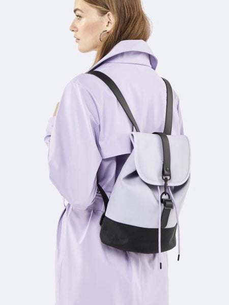 RAINS - Drawstring Backpack - Lavender
