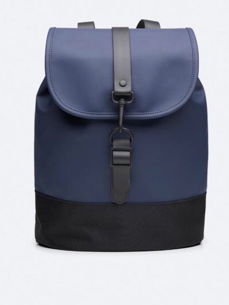 RAINS - Drawstring Backpack - Navy