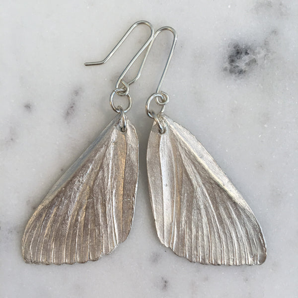 MOTTE Sterling Silver Earrings