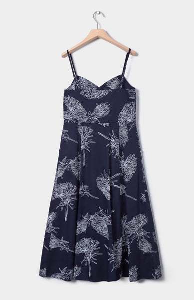 Poet Dress - Dandelion Print