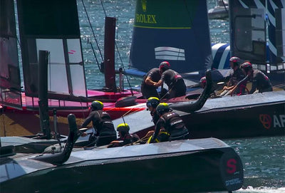 The moments you missed @ Sail GP Sydney