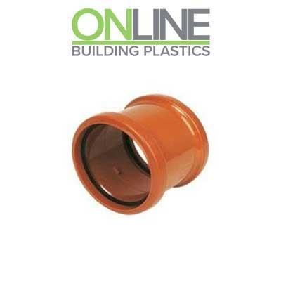 110mm Underground drainage slip repair coupler