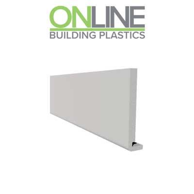 150mm Replacement Fascia board white UPVC