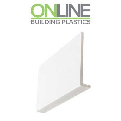 175mm Cover fascia board white UPVC 9mm thick 5m length