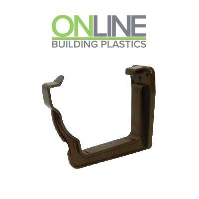 Brown Ogee Gutter Bracket