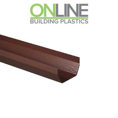 Brown Square Gutter 4m