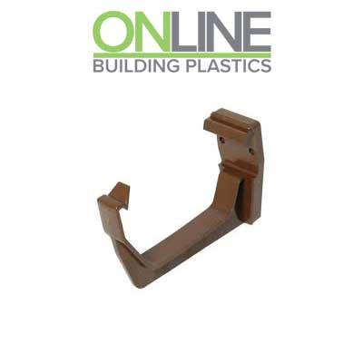 Brown Square Gutter Bracket