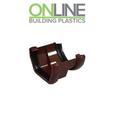 Brown Square to Round gutter Adapter Union
