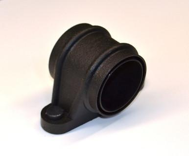 Cast Iron effect gutter downpipes lugged socket