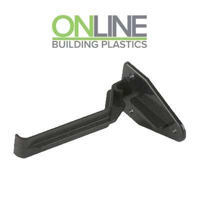 black Ogee top hung gutter bracket