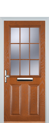 light oak composite door
