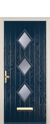 dark blue composite door nuneaton