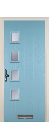 light blue composite door nuneaton